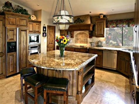 kitchen idea picture layout ideas island wall decorating