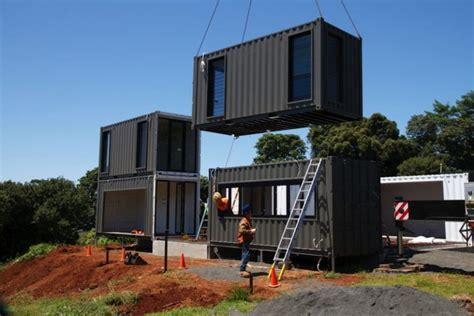 Construction House Plans by Une Maison Container De Luxe Avec Des Finitions
