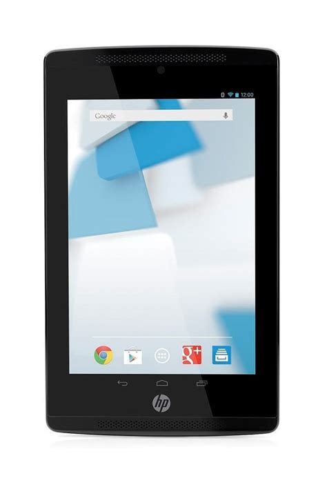 hp slate tablets running android jellybean hit the market pcworld - Android Tablet Running