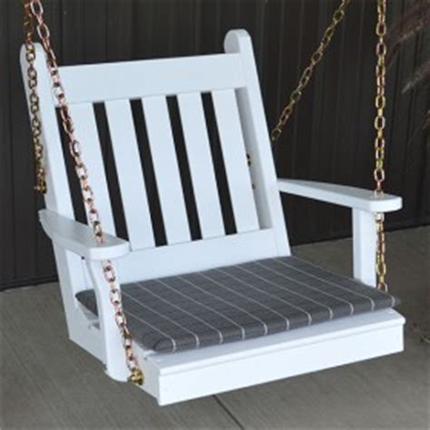 single person swing one person chair porch swings are fun