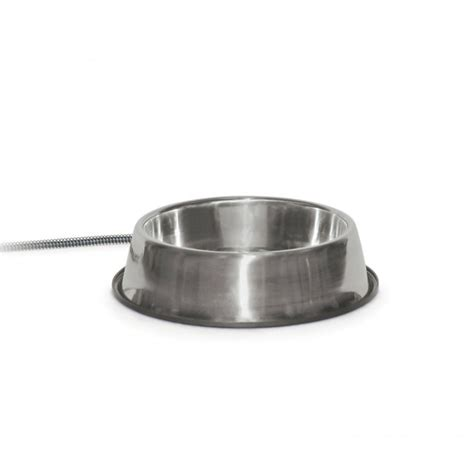 heated water bowl k h thermal bowl heated water bowl