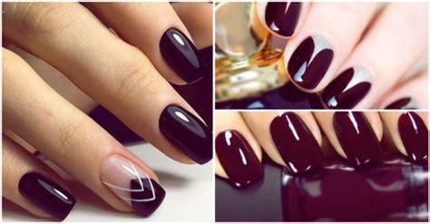 imagenes de uñas decoradas en tonos oscuros u 241 as elegantes en tonos oscuros 161 te encantar 225 n yo amo