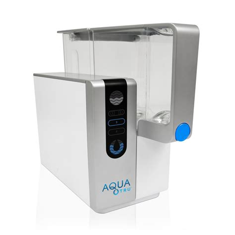aquatru osmosis counter top water purifier at2000