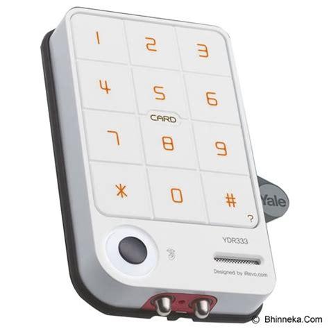 Kunci Pintu Digital Ydr 333 Digital Door Lock Ydr 333 jual yale digital door lock ydr333 murah bhinneka