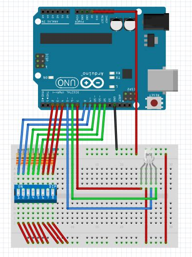 qml table layout old school 8 bit color arduino project hub