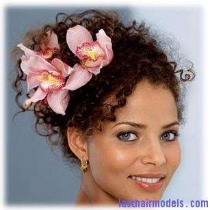 Wedding Hairstyles For Curly Hair 2012 by High Plait Deeply Perm Curly Hair Up Do Black
