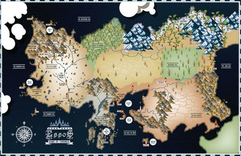 essos map of thrones essos map 17 215 11 poster bensmind