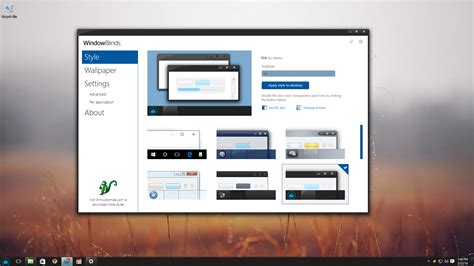 Window Blinds by Windowblinds Software From Stardock
