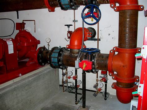 robotic wall system inspection of live cast iron gas mains fire sprinkler system tests fire prevention testing