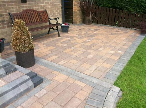 block paving patio creative block paving designs