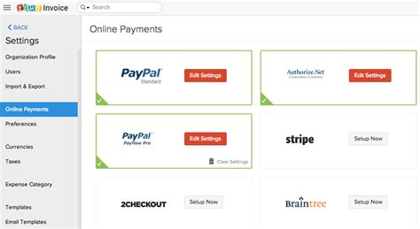 Get Paid Online - invoices online invoicing software