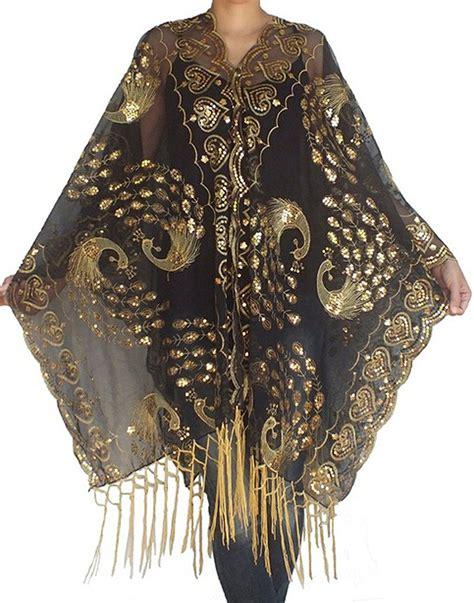 1920s shawl scarf coat kimono capelet fur shrug and stole