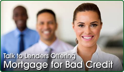 bad credit mortgage lenders second mortgage with bad credit subprime