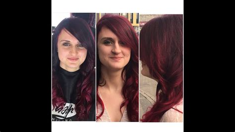 bordeaux hair color bordeaux colour melt
