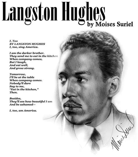 james langston hughes biography the fact that i m often pushing my voice as ha by james