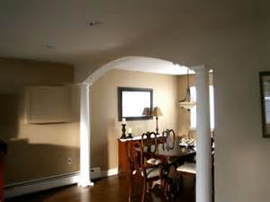 Home Inside Arch Model Design Image by How To Build A Dining Room Arch Hgtv