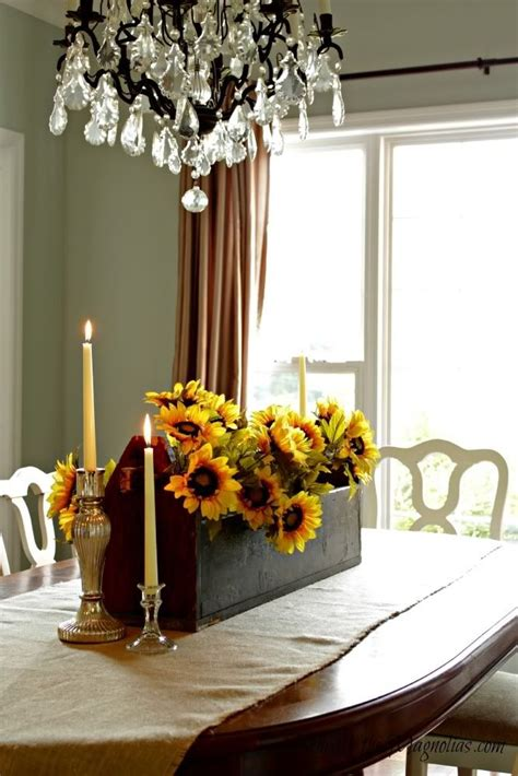 fall dining room centerpiece home ideas pinterest