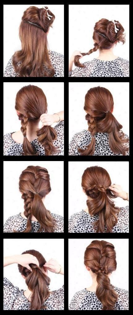 hairstyle steps for 25 impactful easy step by step hairstyles for prom wodip