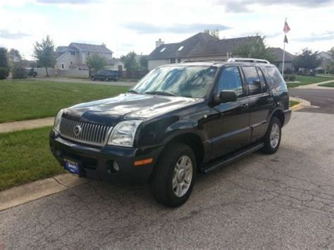 automobile air conditioning repair 2004 mercury mountaineer security system sell used 2004 mercury mountaineer premier sport utility 4 door 4 6l in dyer indiana united states