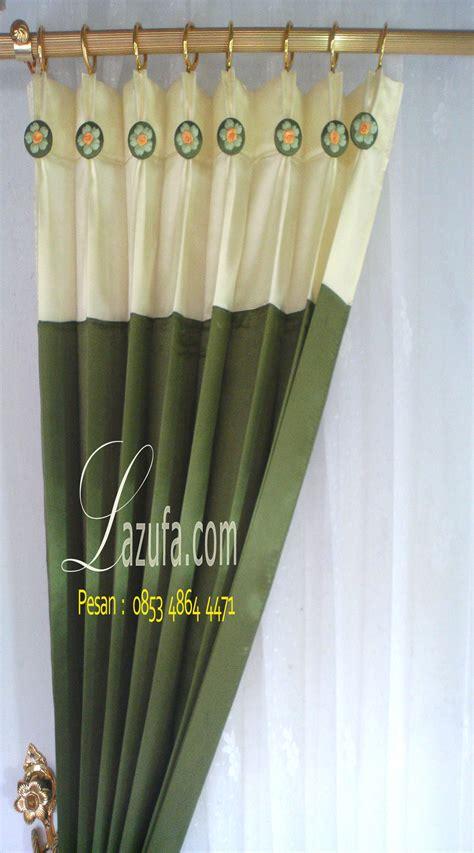 gorden minimalis hijau lumut lazufa