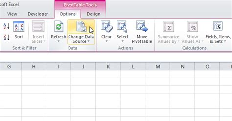 How To Update A Pivot Table by Update A Pivot Table In Excel Easy Excel Tutorial