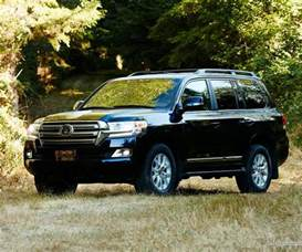 Toyota Land Cruiser Top End Toyota Land Cruiser Suv Almost All The Same For 2017