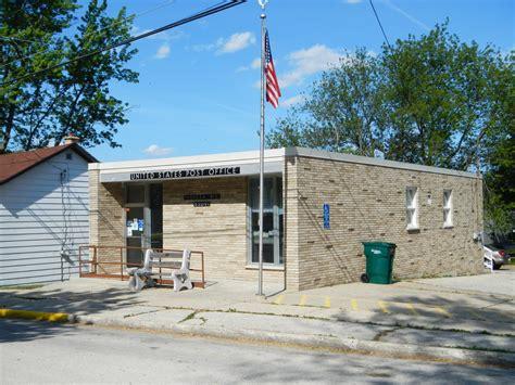 Ripon Post Office by Merrimac Wisconsin Post Office Post Office Freak