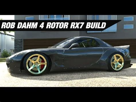 rob dahm rx7 rob dahm s awd 4 rotor rx7 build forza horizon 3 youtube