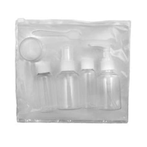 Travel Size Container Set travel size bottles empty flight containers bottle