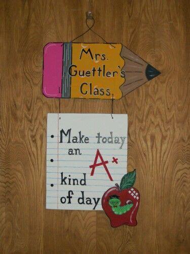 Door Hanger Paper by Pencil And Paper Door Hanger Door Hangers