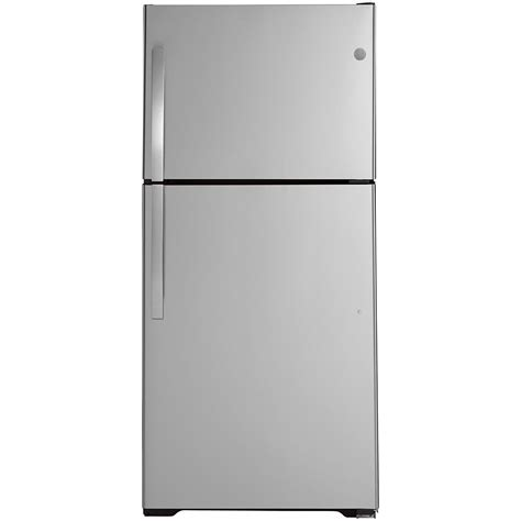 ge  cu ft top freezer  frost refrigerator