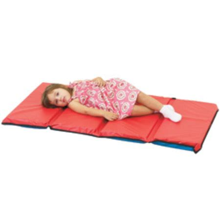4 Fold Nap Mat by Childrens Factory 4 Fold Rest Mat 1 Quot Thick 1 Pack Cf400 508xb Rest Mats And Napping Mats