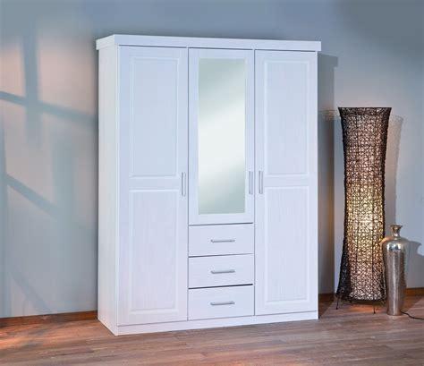 armoire 3 portes 3 tiroirs armoire geraldo blanche 3 portes 3 tiroirs