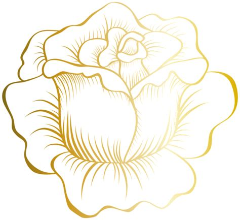 golden pattern png golden rose png clip art image printables pinterest