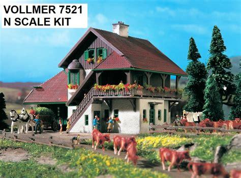 Vollmer N 7640 Railroadman House Vollmer Z Scale Hobo N Scale Buildings