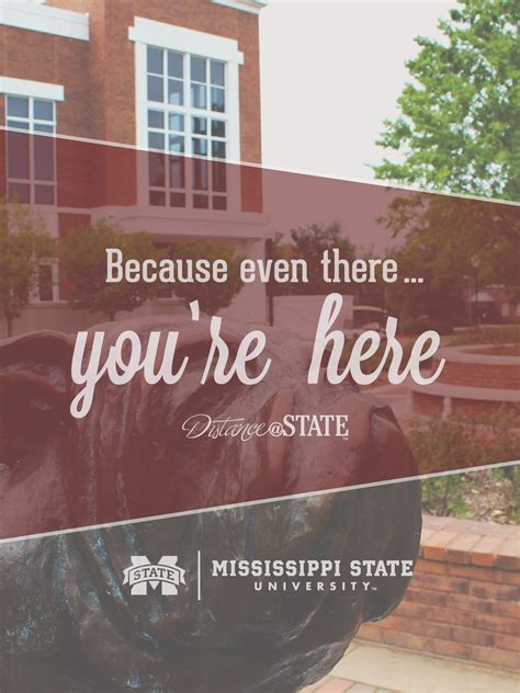 Mississippi State Mba Concentrations by Distance Education Center For Distance Education