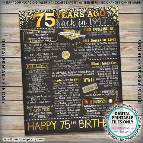 Tidbitsits The Top Tidbits From Th by Best 25 75th Birthday Decorations Ideas On