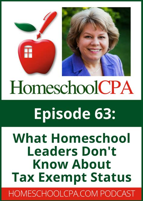 what homeschool leaders don t about tax exempt status
