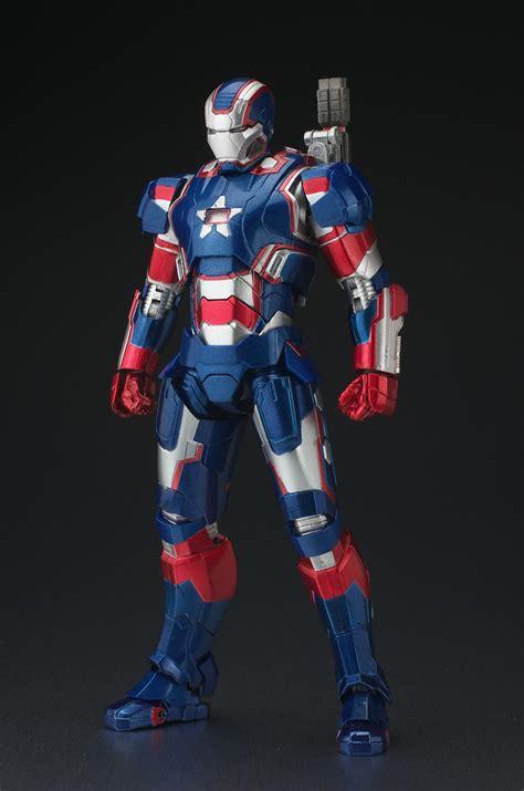 Bandai Shf Iron 3 Iron Patriot new type review shf iron patriot