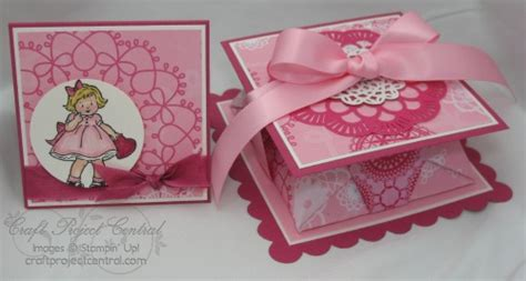 origami box card stin up australia