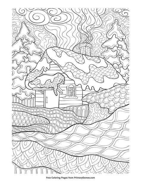 winter coloring pages adults 8168 best images about paper on coloring