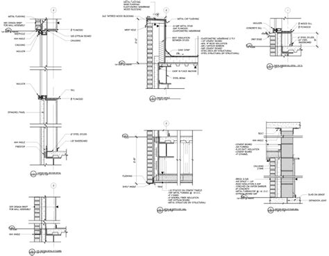 curtain wall floor detail commercial building plans by raymond alberga at coroflot com