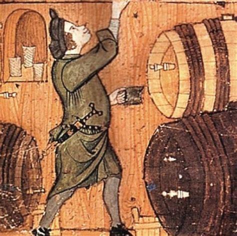 tavolo medievale storia vino e acqua medievale