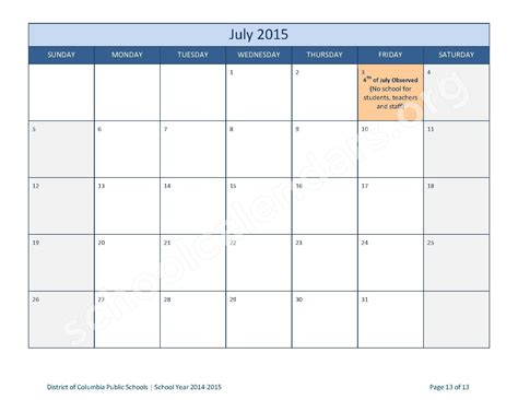 printable monthly school calendars search results for calendar 20132014 printable