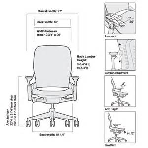 Dimensions Of Desk Chair Leap Chair With 3d Knit Back Steelcase S Best Ergonomic