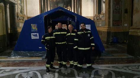 tenda protezione civile natale palermo solidale con i terremotati presepe nella