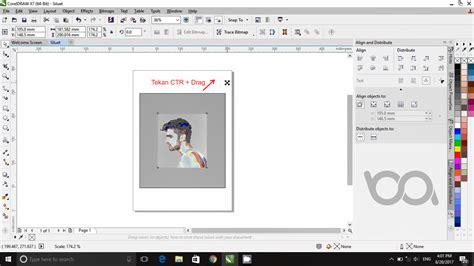 tutorial vector dengan corel draw tutorial coreldraw membuat siluet untuk pemula bang