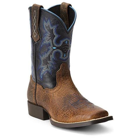 western square toe boots for kid s ariat tombstone square toe western boots 10012794