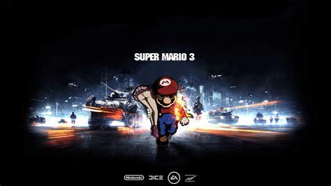gamers wallpaper 1600x900 video games battlefield super mario funny battles