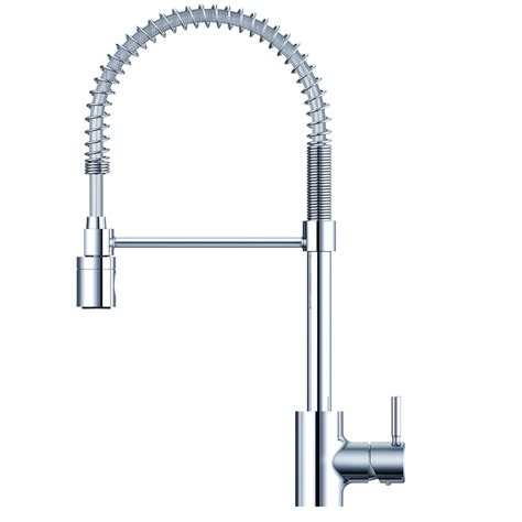 danze parma single handle pull out sprayer kitchen faucet